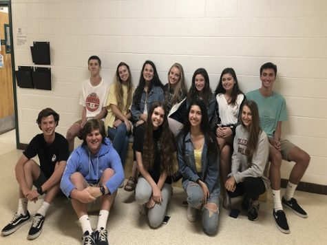 National Honor Society elects next year's officers