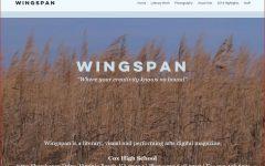 Wingspan literary magazine inspires student creativity