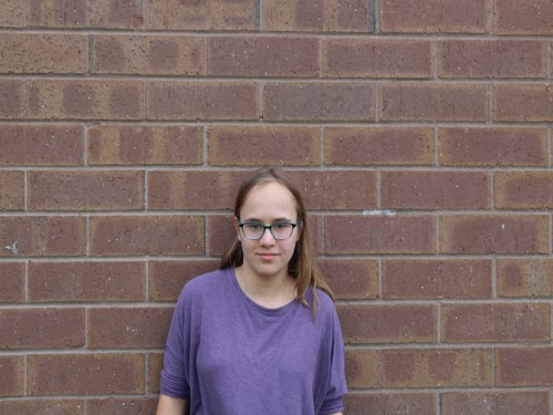 Sophomore Kristina Robel