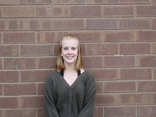 Sophomore Katie Hawthorne