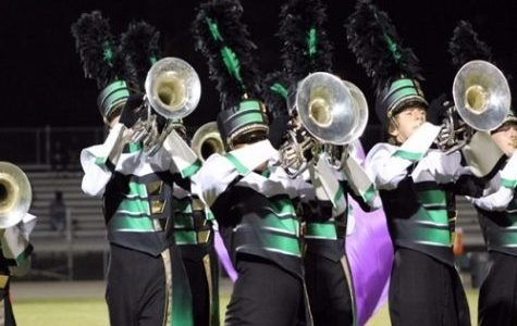 Marching Falcons band again sweep competition