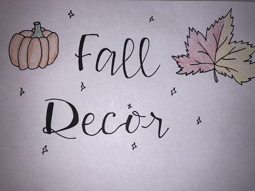 How to: decorate bedrooms for fall