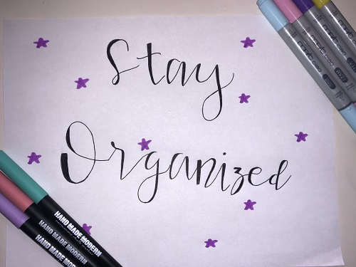 How to: stay organized throughout the school year