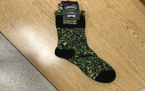 FCCLA PLANS TO sell spirit socks as a fundraiser, while keeping it 'green and gold.' Independent Living teacher and FCCLA sponsor Mrs. Weimer and the FCCLA students came up with the idea a few years ago and have since run with it..