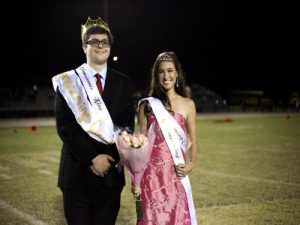 Q & A: Falcon's new Homecoming king and queen speak out