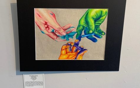 """VB high school students display pieces, """"Young at Art"""""""