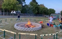 Bonfire kicks off Homecoming, spirit week