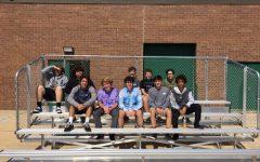 Tech. Ed. class builds additional baseball bleachers