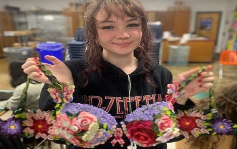 JUNIOR ALAINA WALTON and several other NAHS students recently entered their