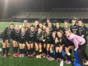 Field Hockey advances into the state tournament to defend their title