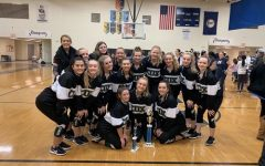 Coquettes finish first, Manchester Lancer Dancer invitational