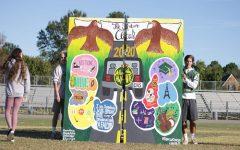 Seniors capture memories through mural