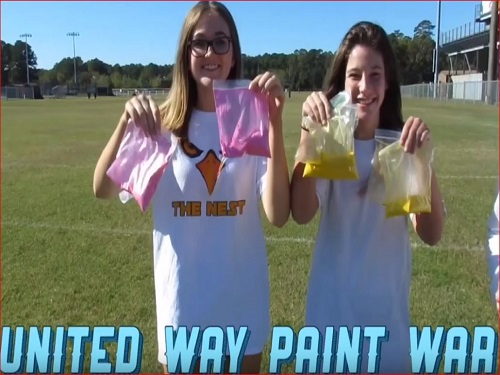 'Fun'draising for United Way, SCA presents 'Paint Wars'