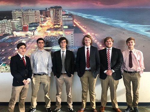 Entrepreneurship students take first step into business world