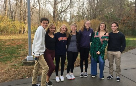 AP BIOLOGY STUDENTS travel to TCC for the annual cadaver lab field trip.  Although not pictured with actual cadavers, the experience helped them gain a better understanding of science and medicine.