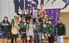 Falcon wrestling starts at the top