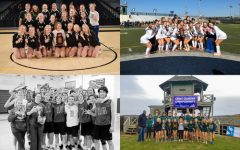FALCON FALL SPORTS celebrate post season play victories. Four out of seven teams placed in their regional and state competitions.