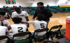 Falcon varsity boys basketball defeats Kellam Knights, season opener
