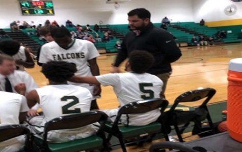 Falcon varsity boys basketball defeats Kellam Knights, season opener