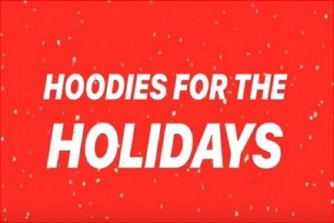 HOODIES FOR THE Holidays begins fundraising the first week in December to raise enough money to purchase hoodies for third grade elementary school students. The goal is to raise $1620 and sponsor 90 College Park Elementary students.