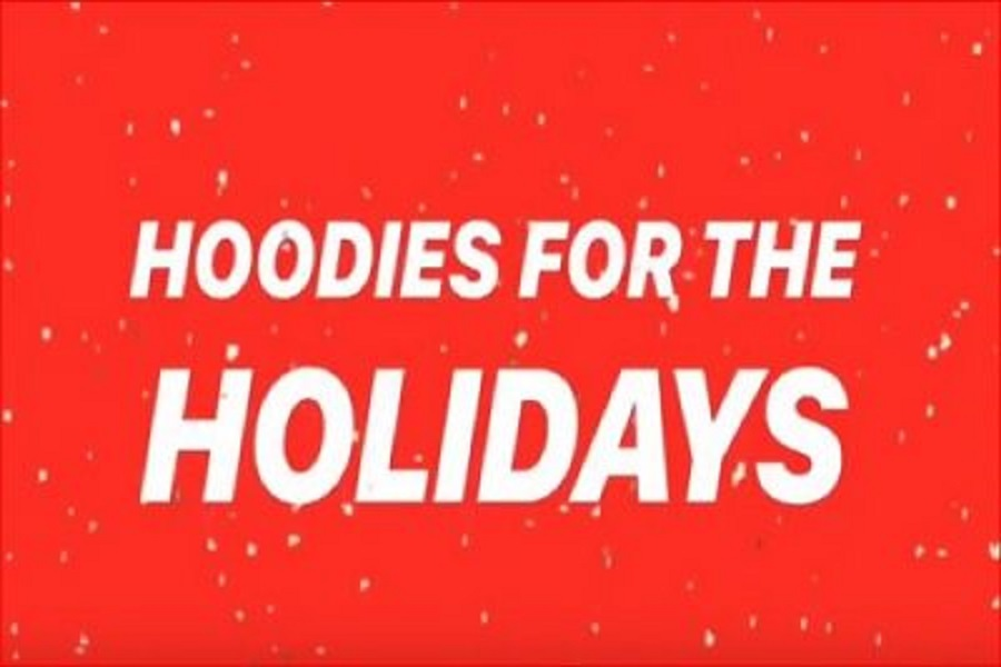 'Hoodies for the holidays' donates sweatshirts, elementary school students