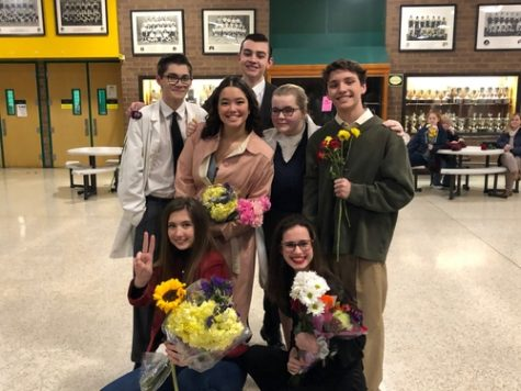 "FALCON STAGE COMPANY performs their final One-Act last week. ""It was a lot of work but I already miss it,"" Stage Manager and senior Hannah Wroton said."