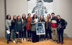 NAHS visits Virginia MOCA, meets local artist