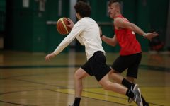 "Students and teachers 'ball' in the ""Hoops for Hope"" match up"