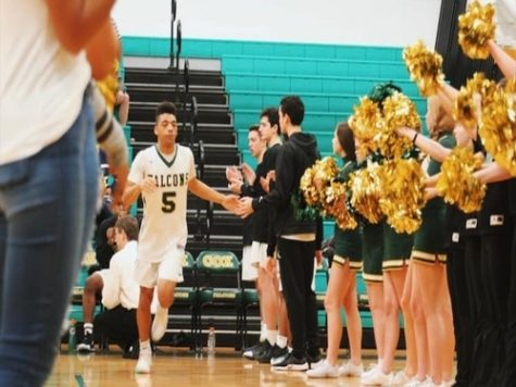 Falcon Boys Basketball take down rivals FC
