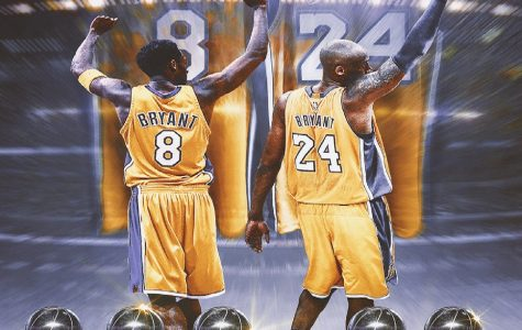 LOS ANGELES LAKERS retire numbers 8 and 24 during his 20-year career with the L.A. Lakers before his tragic passing only a few weeks ago. He was able to dominate the game with his unrelenting pressure on the ball and his
