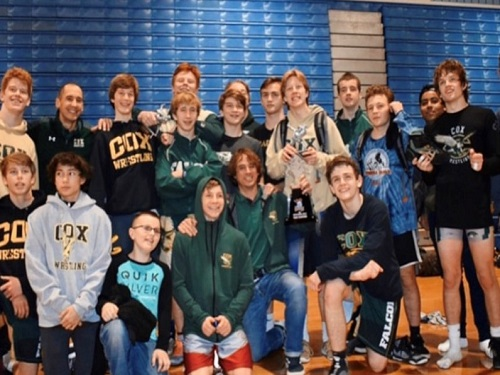 Falcon wrestling boasts four region champions, advance to states