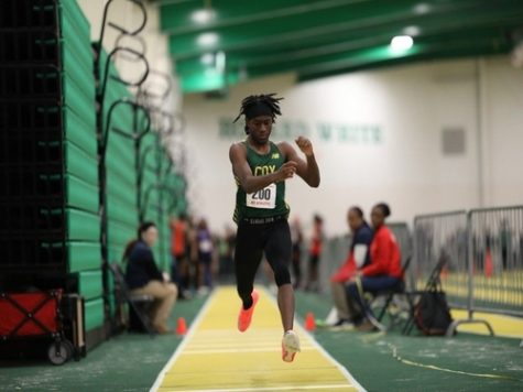 Indoor Track finishes season with All-State honors