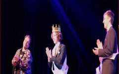 JACK DAVIDSON IS crowned the 2020 Mr. Cox. The contestants competed Friday night for the title.