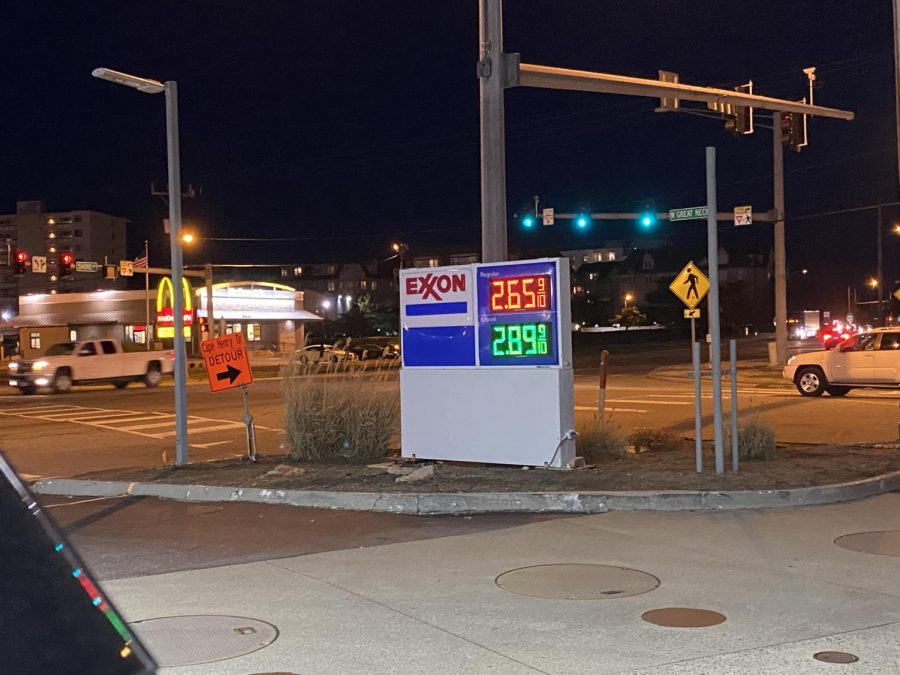 GAS PRICES DOUBLE almost overnight as local restrictions are gradually lifted. It s nearly $2.70 for a gallon of regular, it will be $3 before we know it, junior Will Buffkin said.