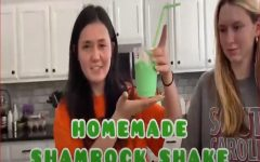 BURKELLE REIGHARD AND Kayleigh Cannaday put a minty twist on their own vintage Shamrock Shake. Reighard and Cannaday tested their own shake against the McDonald's iconic, classic shake.